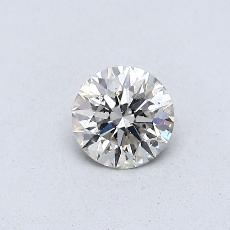 Recommended Stone #1: 0,34-Carat Round Cut Diamond