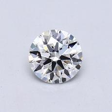 Recommended Stone #4: 0.53-Carat Round Cut