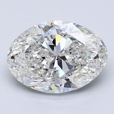 Recommended Stone #3: 3.00-Carat Oval Cut