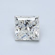 推薦鑽石 #1: 0.81  克拉公主方形鑽石