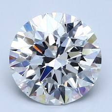 Recommended Stone #1: 2,55-Carat Round Cut