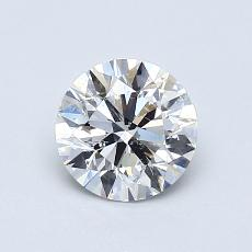 Recommended Stone #1: 0,70-Carat Round Cut Diamond