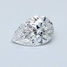 Recommended Stone #1: 0.51-Carat Pear Shaped