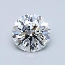 1.01 Carat 圆形 Diamond 理想 F VS1