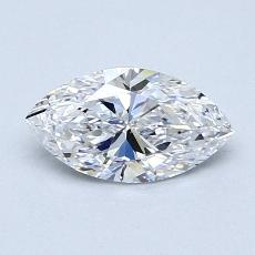 0,70-Carat Marquise Diamond Very Good D VVS1