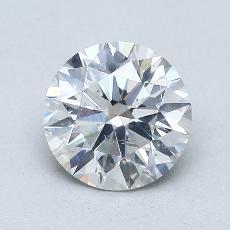 1,05 Carat Rond Diamond Idéale F SI2