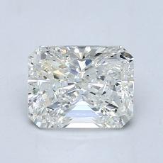 1.20-Carat Radiant Diamond Very Good J VS2
