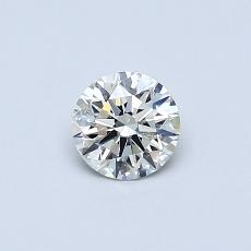 Recommended Stone #1: 0.38-Carat Round Cut