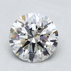 1.65 Carat 圆形 Diamond 理想 H IF