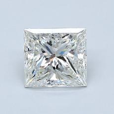 推荐宝石 2:1.22 克拉公主方形钻石