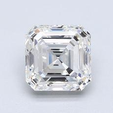 Recommended Stone #3: 2.01-Carat Asscher Cut