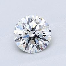 Pierre recommandée n°3: Diamant taille ronde 0,90 carat