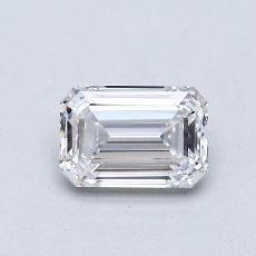 Recommended Stone #1: 0.61-Carat Emerald Cut Diamond