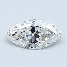 推薦鑽石 #4: 0.55 Carat Marquise Cut