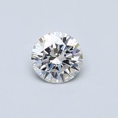 当前宝石:0.41 克拉圆形切割