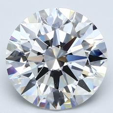 Recommended Stone #4: 4.03-Carat Round Cut Diamond