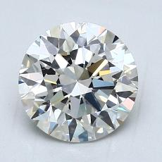 2,01 Carat Redondo Diamond Ideal F VS1