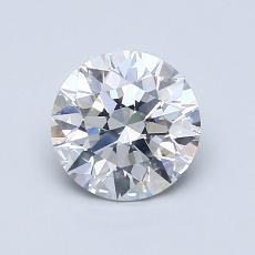 1.00 Carat 圓形 Diamond 理想 E SI1