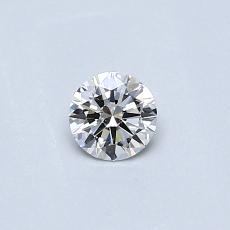 Recommended Stone #4: 0.23-Carat Round Cut Diamond