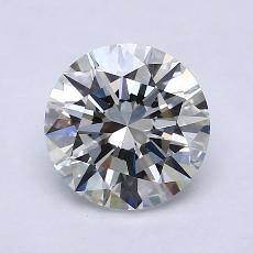 1,50 Carat Rond Diamond Idéale G VS2
