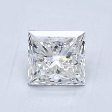 1.04-Carat Princess Diamond Very Good F VS1