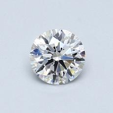 オススメの石No.4:0.60カラットラウンドカットダイヤモンド