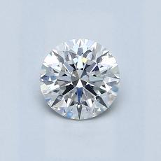 0.60 Carat 圓形 Diamond 理想 G VS2
