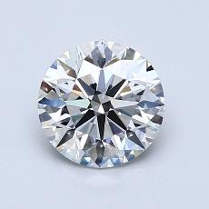 Recommended Stone #1: 1.11-Carat Round Cut