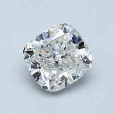 1.09 Carat 垫形 Diamond 非常好 H IF
