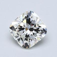 Pierre recommandée n°4: Diamant taille coussin 1,20 carats