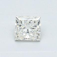Recommended Stone #1: 0.51-Carat Princess Cut Diamond