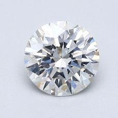 1.00-Carat Round Diamond Ideal G SI1