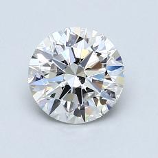 1.00 Carat 圓形 Diamond 理想 E VS2