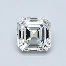 Recommended Stone #1: 0.91-Carat Asscher Cut Diamond