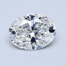 Recommended Stone #3: 1,03-Carat Oval Cut Diamond
