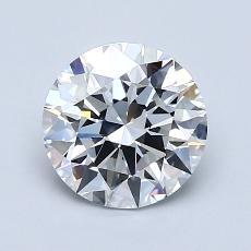 1.32 Carat 圆形 Diamond 理想 D FL