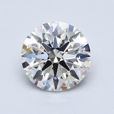1,06 Carat Rond Diamond Idéale H VS2