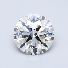 1,03-Carat Round Diamond Ideal D IF