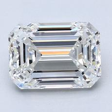 Recommended Stone #1: 2.50-Carat Emerald Cut Diamond