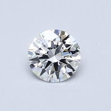 Recommended Stone #4: 0.49-Carat Round Cut Diamond