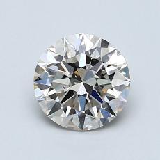 1,00-Carat Round Diamond Ideal K VVS2