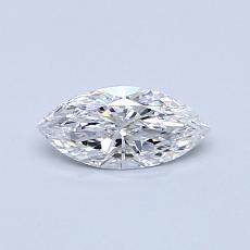Recommended Stone #2: 0,32-Carat Marquise Cut Diamond