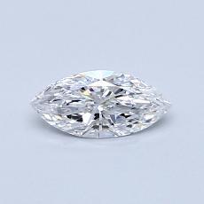 推薦鑽石 #4: 0.32  克拉欖尖形切割鑽石