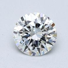 1.00-Carat Round Diamond Ideal G VS1
