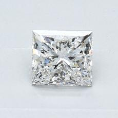 Recommended Stone #1: 0.77-Carat Princess Cut Diamond