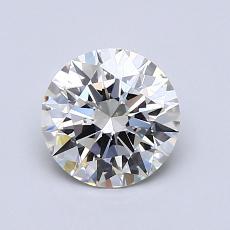 1,01 Carat Rond Diamond Idéale I VS1