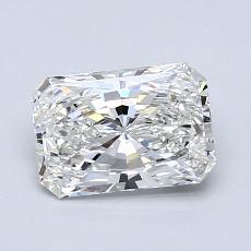0.96-Carat Radiant Diamond Very Good F VVS1