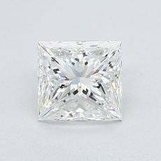 1,01-Carat Princess Diamond Very Good H VS2