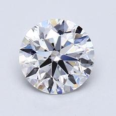 1.30 Carat 圆形 Diamond 理想 E VS1