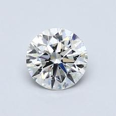 Recommended Stone #1: 0,70-Carat Round Cut